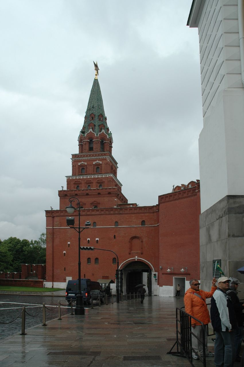 Kremlin towers: names and their height 4