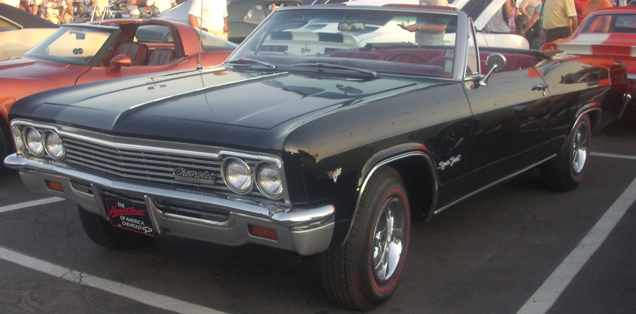 Chevrolet Impala 1966 Chevy Suspension Ss Convertible