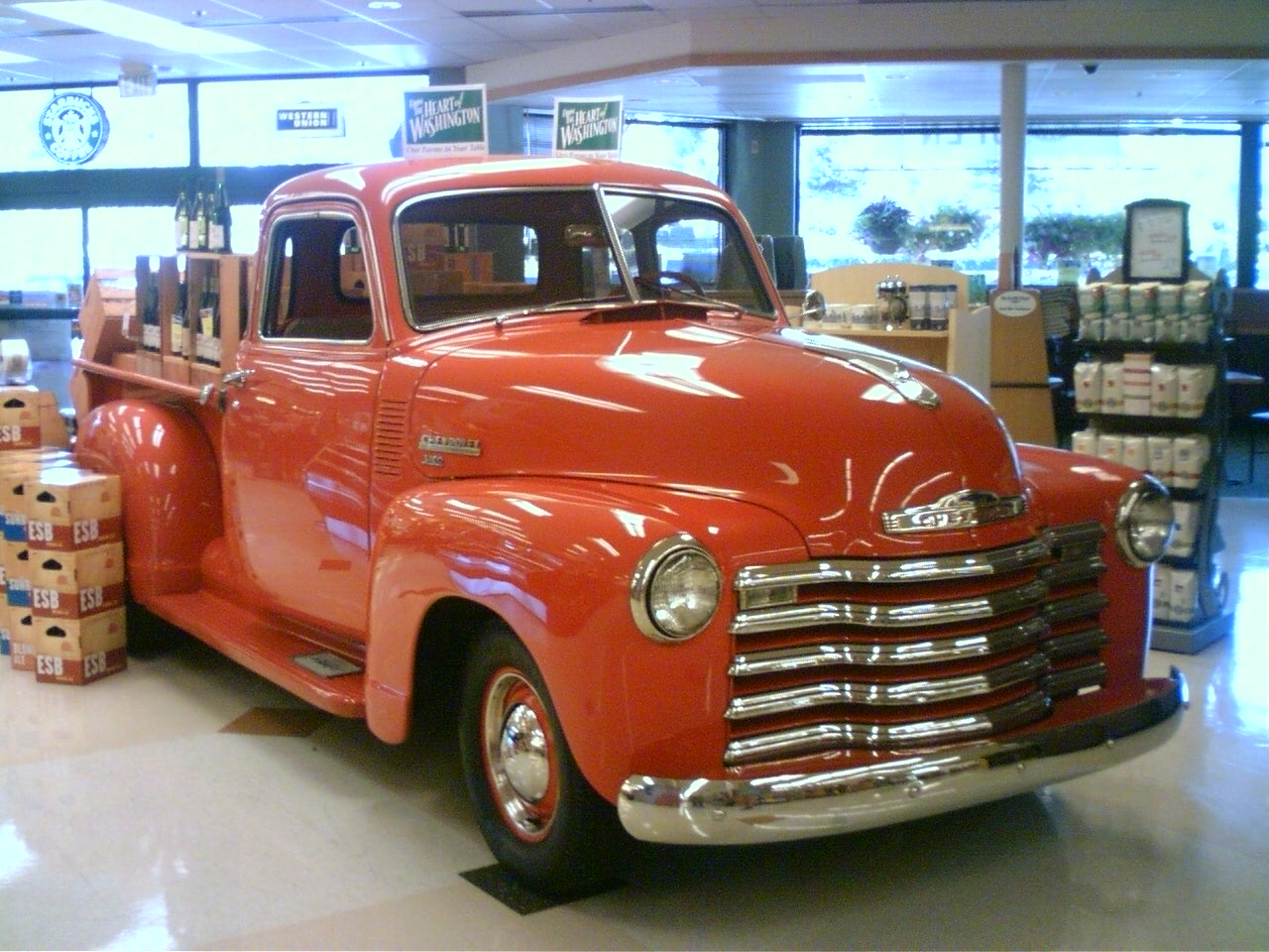 Chevrolet Advance Design 1954 Chevy 3100 Pick Up Truck For Sale