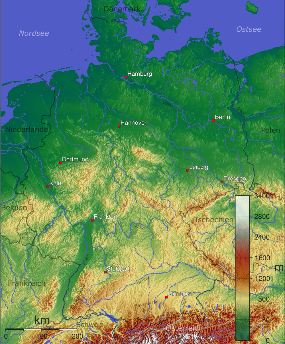 Outline of Germany