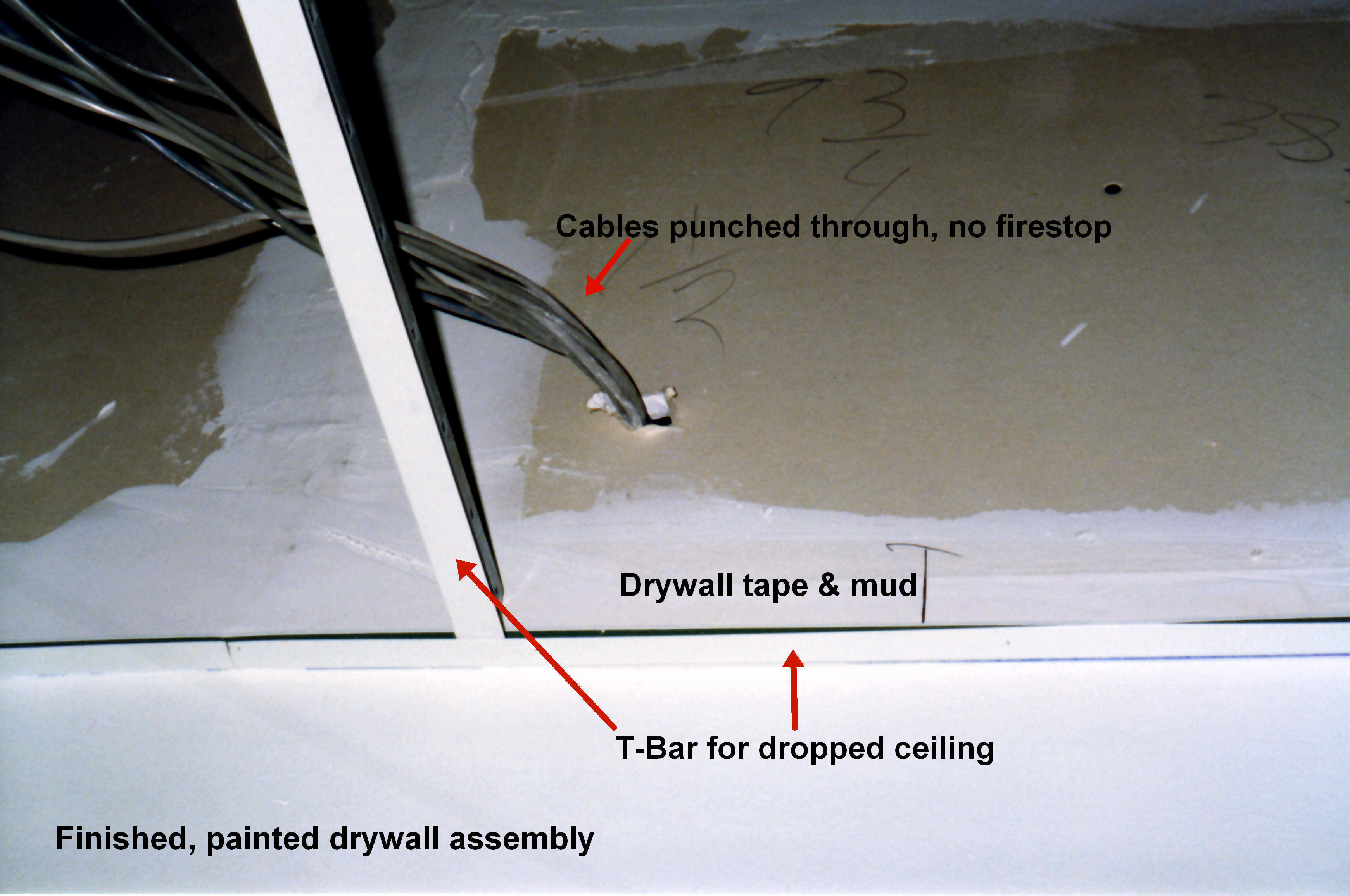 Paint For Fire Rated Drywall : Drywall