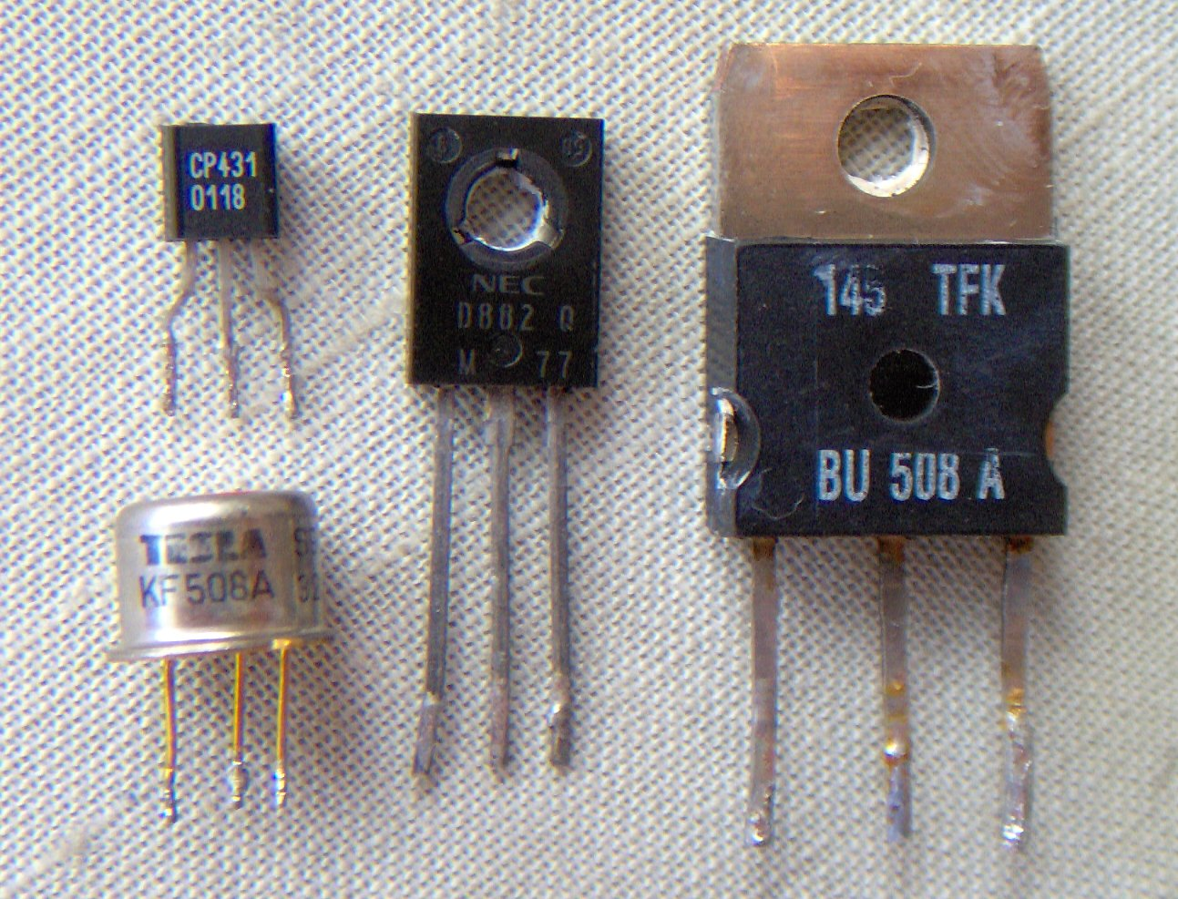 Transistor Here Is A Very Simple Bc549c Amplifier Circuit Using An Assorted Discrete Transistors