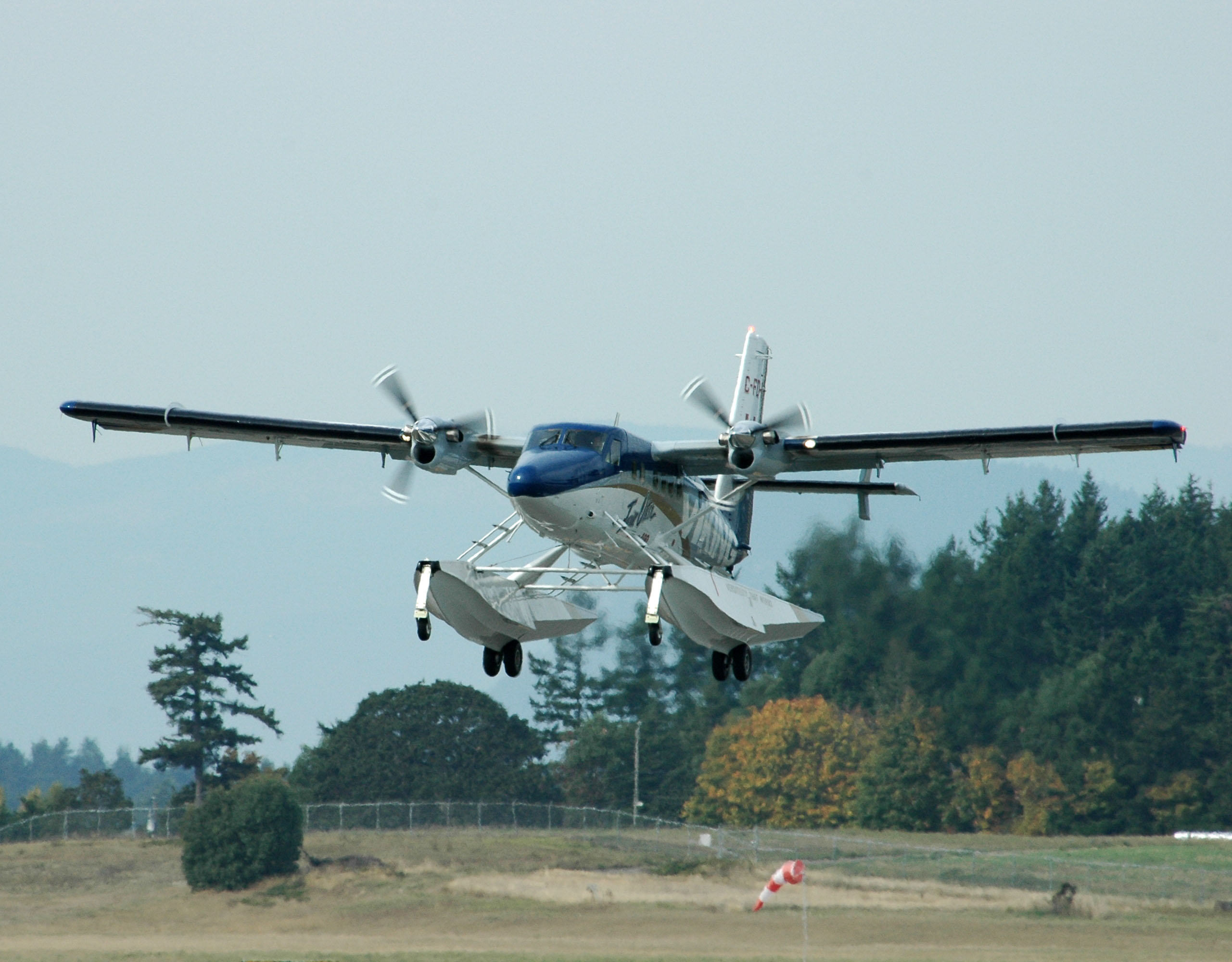 Design and development. Aerovías DAP DHC-6 Series 300 at Puerto Williams. A Twin  Otter ...