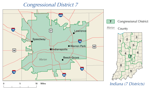 Indiana\'s 7th congressional district
