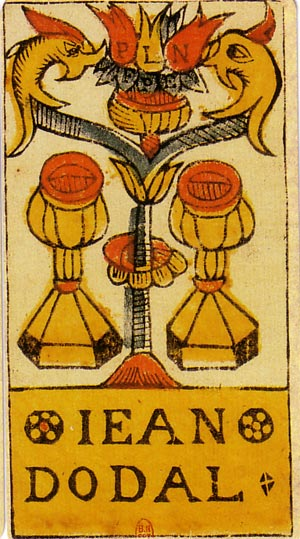 two of cups thoth tarot