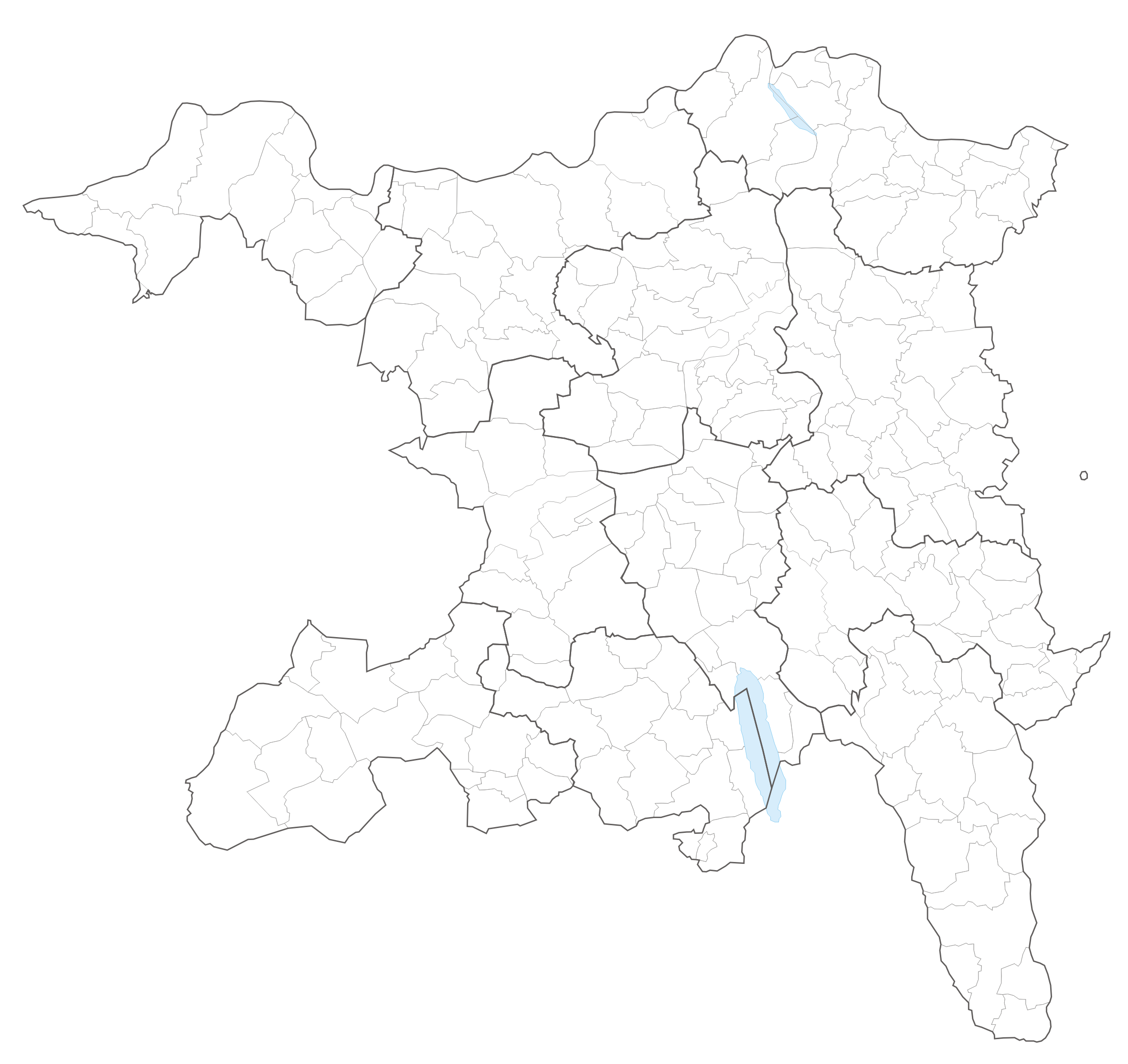 Municipalities of the canton of Aargau