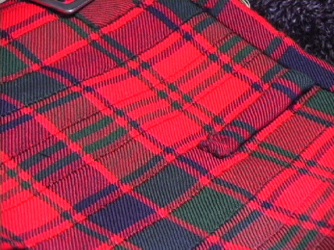 42a1161284fbf Stitching on the fell of a kilt (Robertson Red Modern)