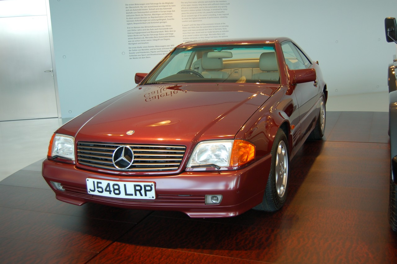 Diana, Princess of Wales ownership. Princess Diana's Mercedes 500SL