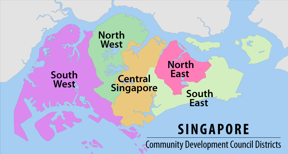 Administrative divisions of Singapore