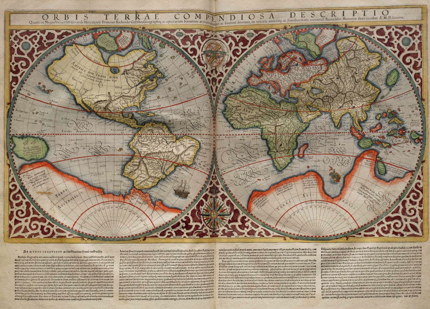 Oldest Known World Map.List Of Cartographers