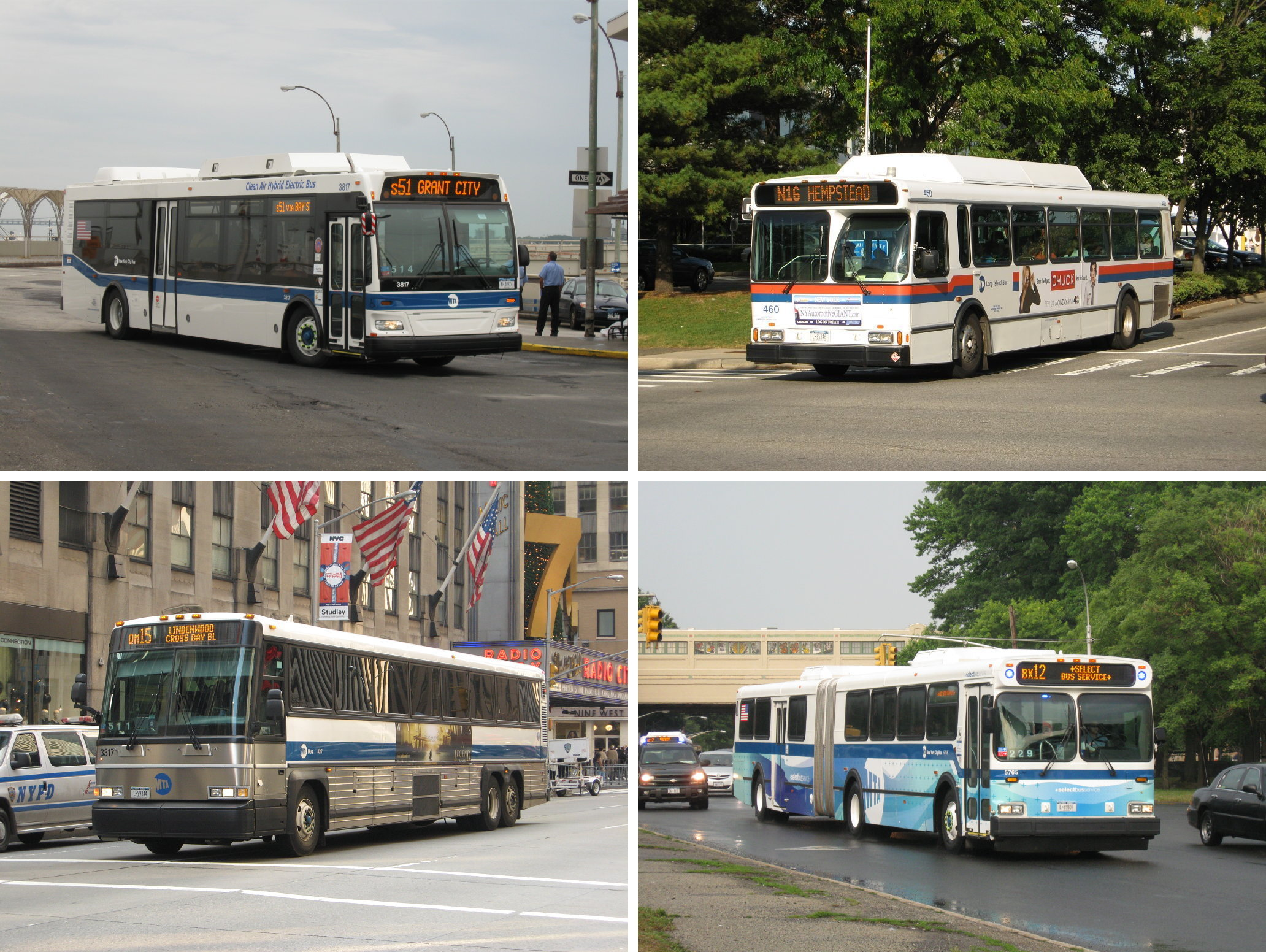 List Of Bus Routes In Manhattan
