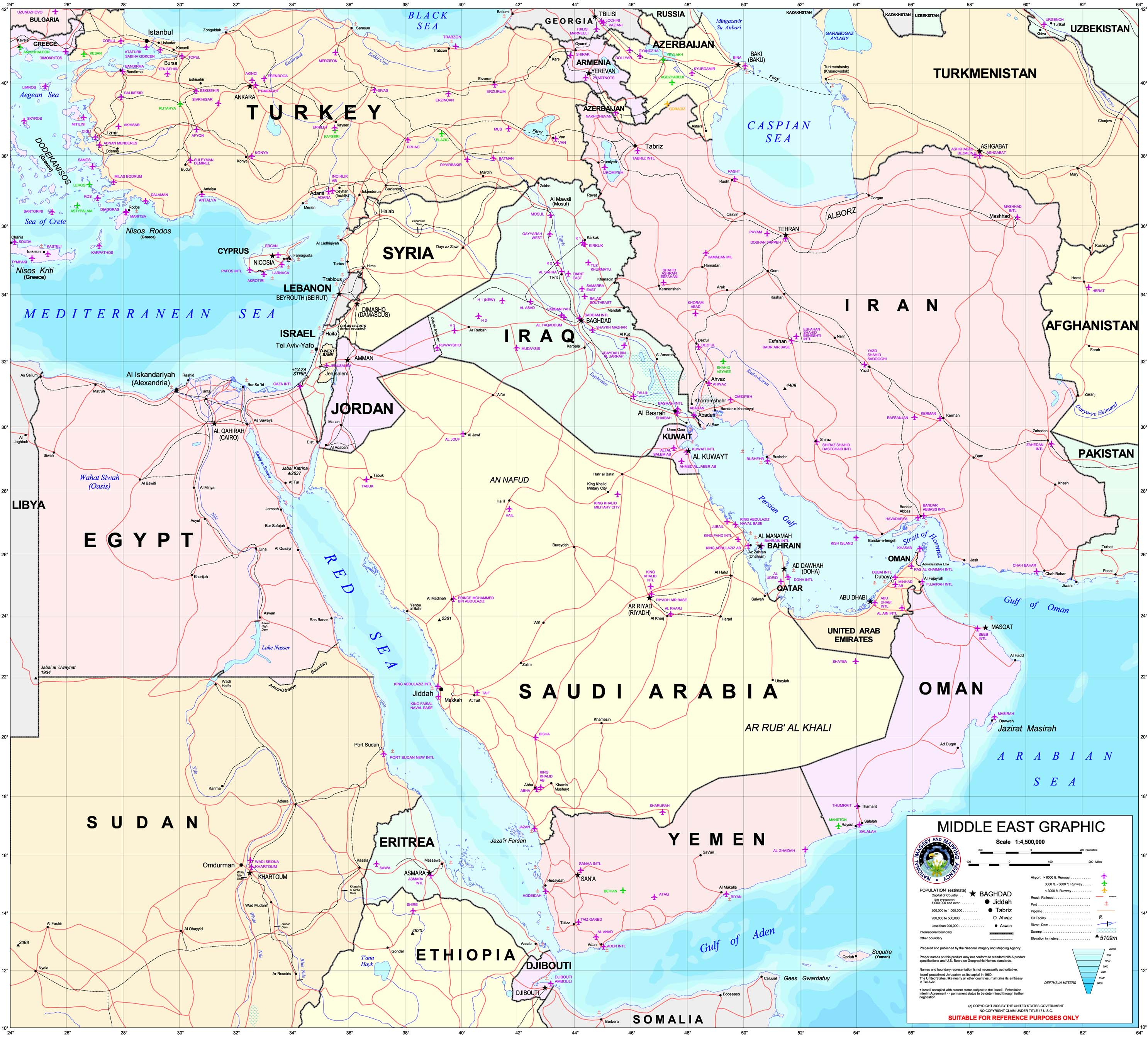 List of modern conflicts in the Middle East