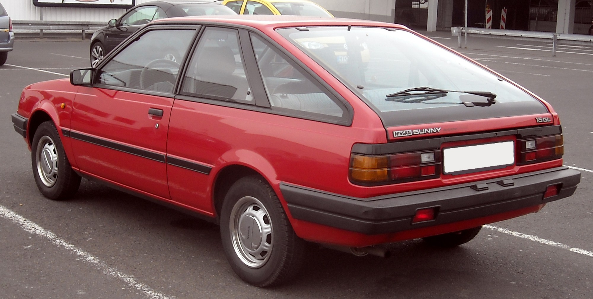 Nissan Sunny The name sentra is not used in japan, where it is currently known as the bluebird sylphy. nissan sunny