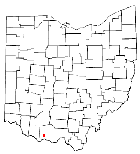 Union Ohio Map.West Union Ohio