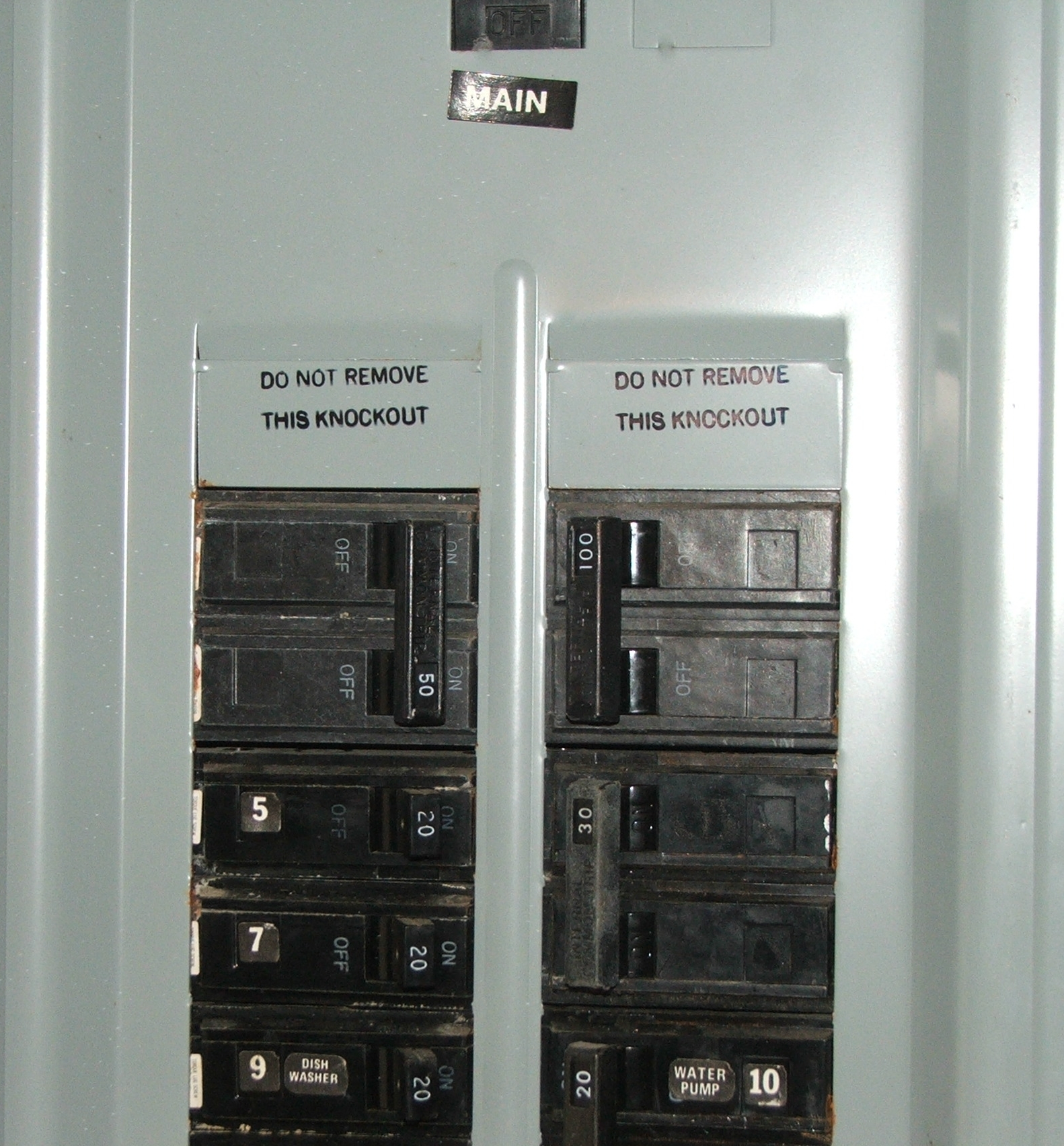 Distribution Board Circuit Breaker Panel Box In Addition Residential Illustration Of Numbering A North American Type Panelboard Some Labels Are Missing And Lines Have Additional Descriptive The