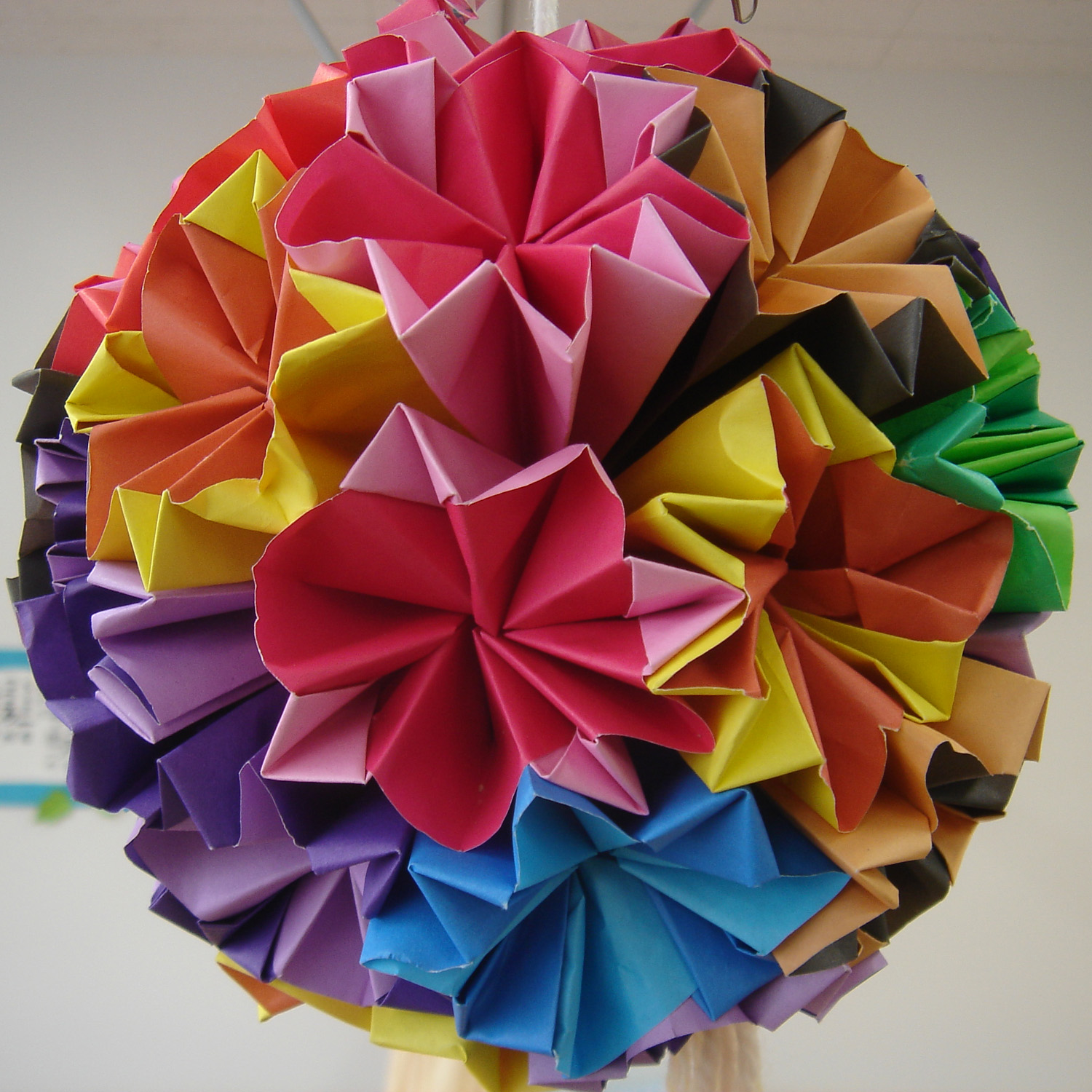 Modular Origami - How to make Modular Complex Star Origami ... | 1500x1500