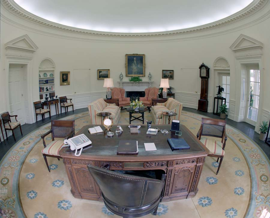 Recreating oval office Presidential Center Academic Dictionaries And Encyclopedias Oval Office