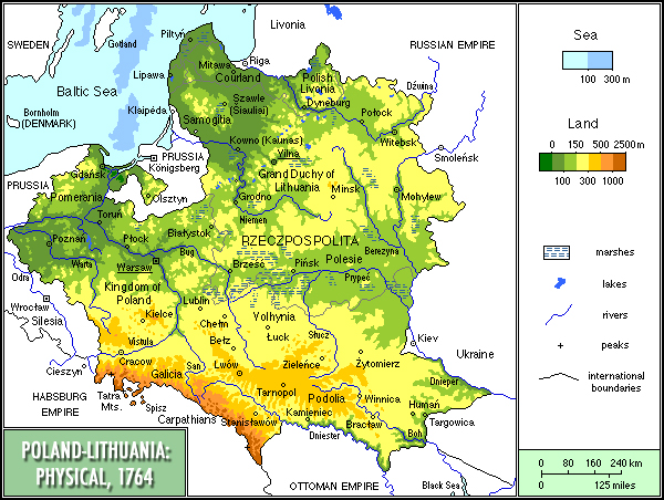 Geography of Lithuania, Landforms - World Atlas