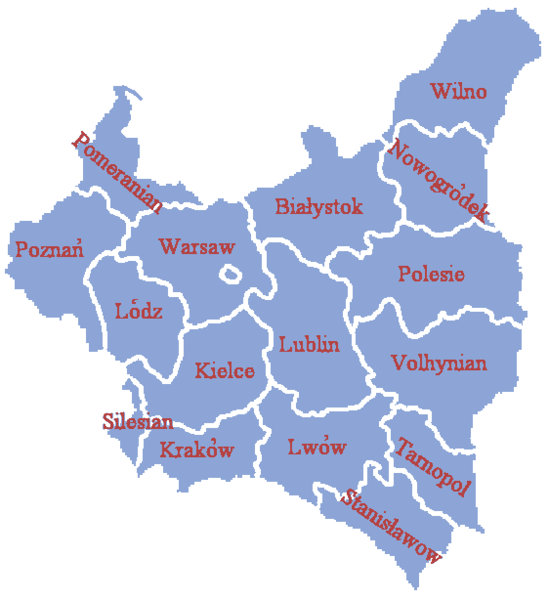 Administrative divisions of Poland