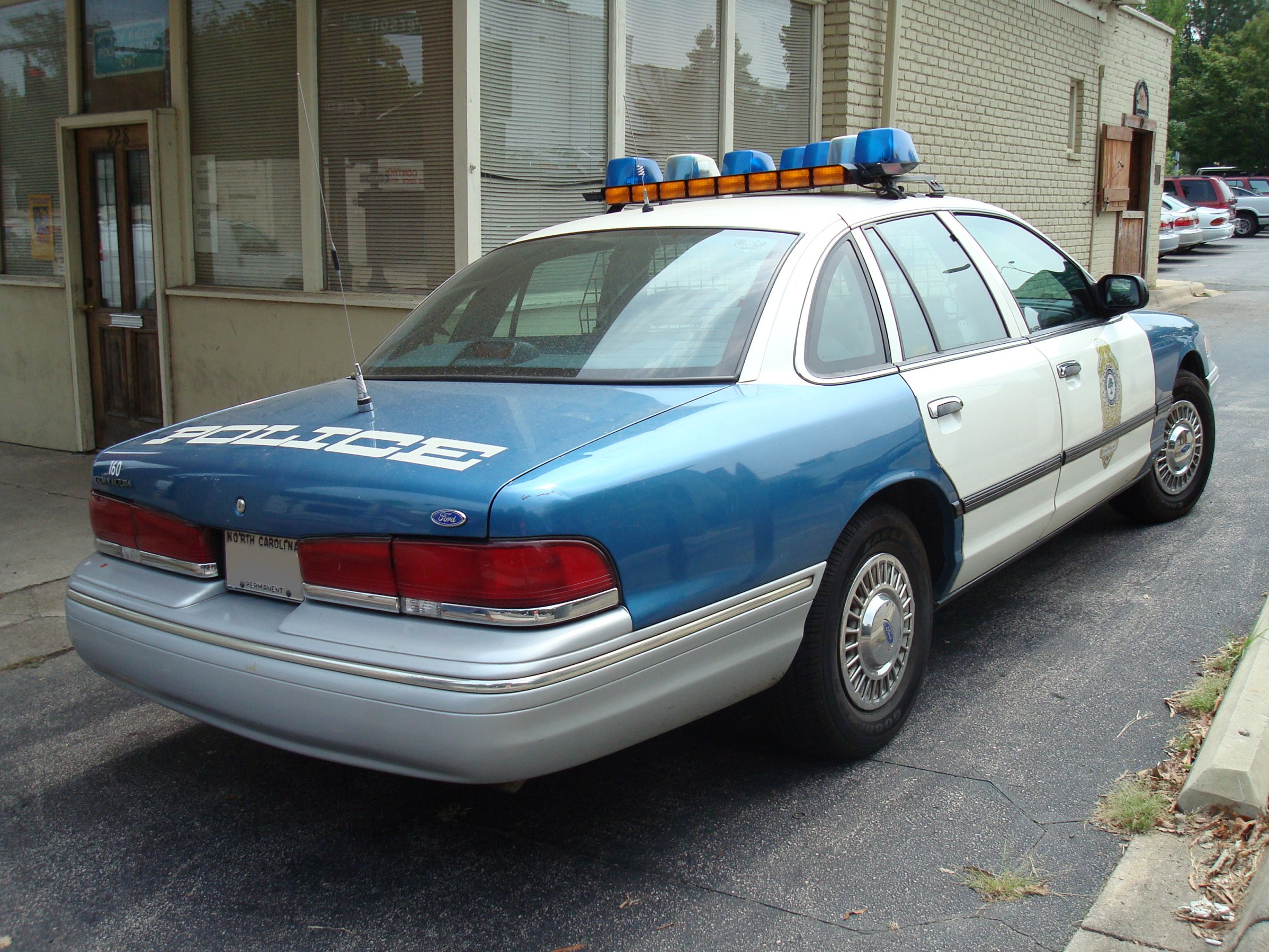 Ford Crown Victoria Police Interceptor 1949 First Generation 1992 1997