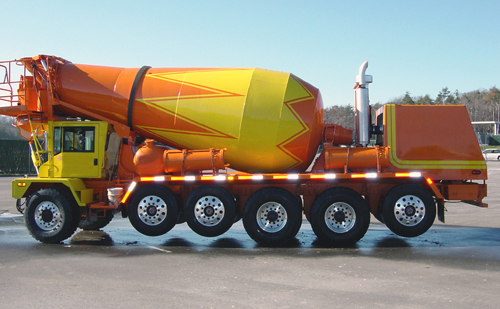 093d2fd86cf9 Concrete mixing transport truck