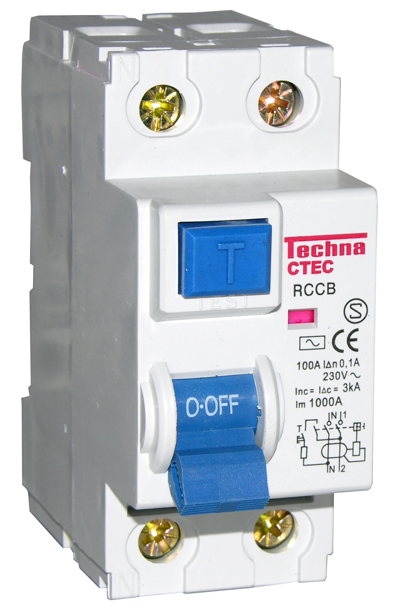Residual Current Device Ground Fault Circuit Interrupter Safety Outlet This Type Of