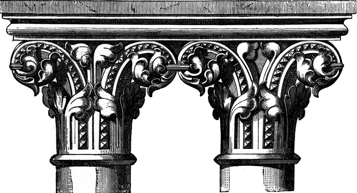 Western Romanesque And Gothic Capitals