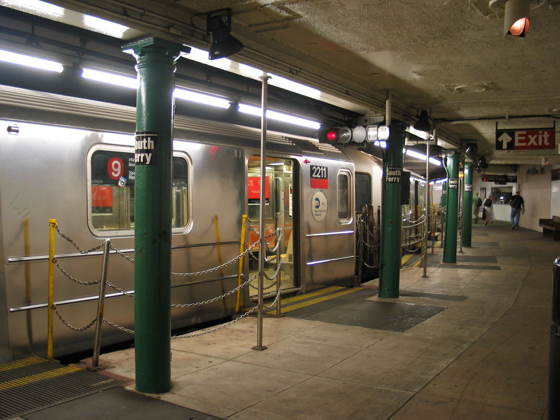 South Ferry New York City Subway