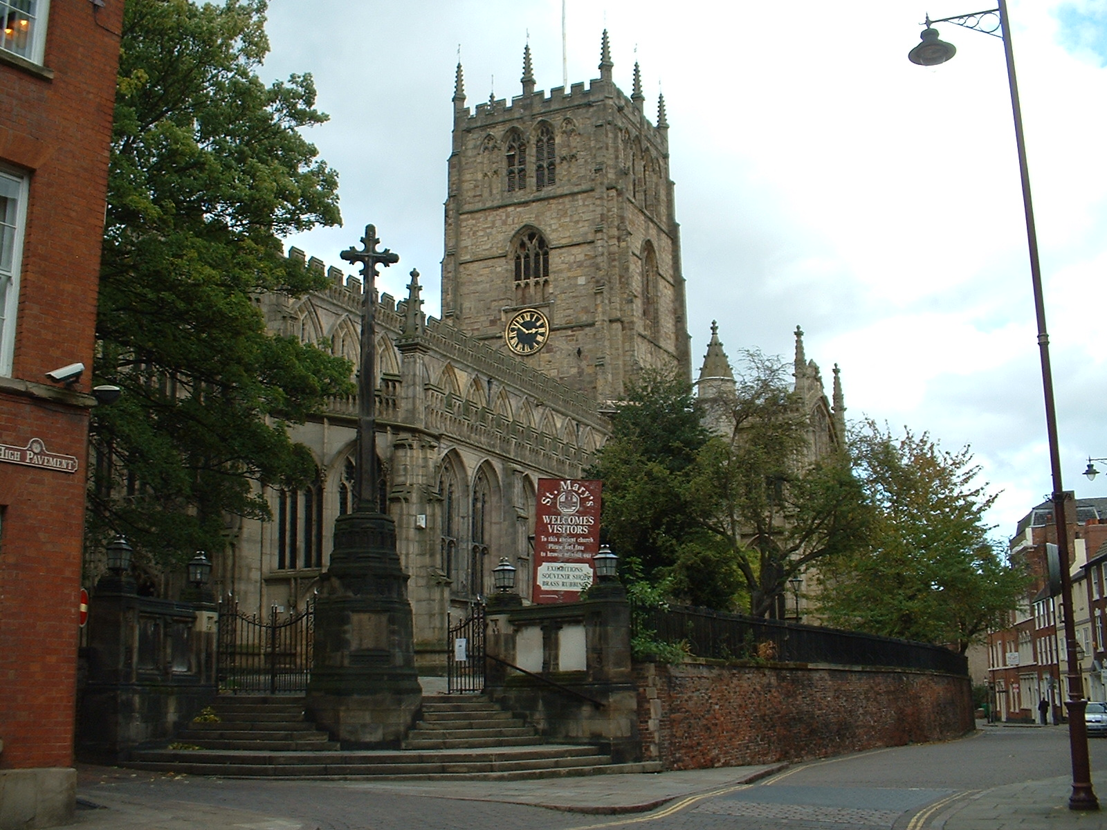 Image result for The Church of St Mary the Virgin is the oldest religious foundation in the City of Nottingham