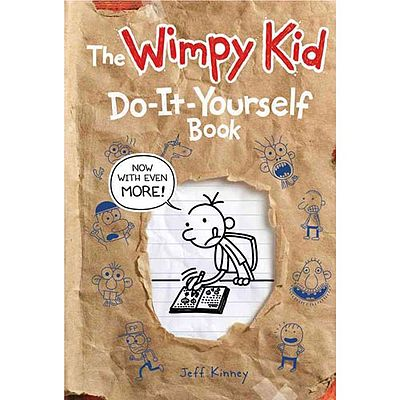 Diary of a wimpy kid do it yourself book solutioingenieria Choice Image