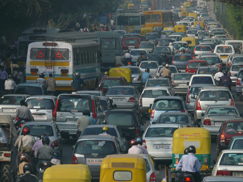 trafficjamdelhi jpg economic theories