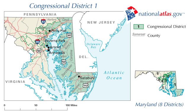 Maryland\'s 1st congressional district