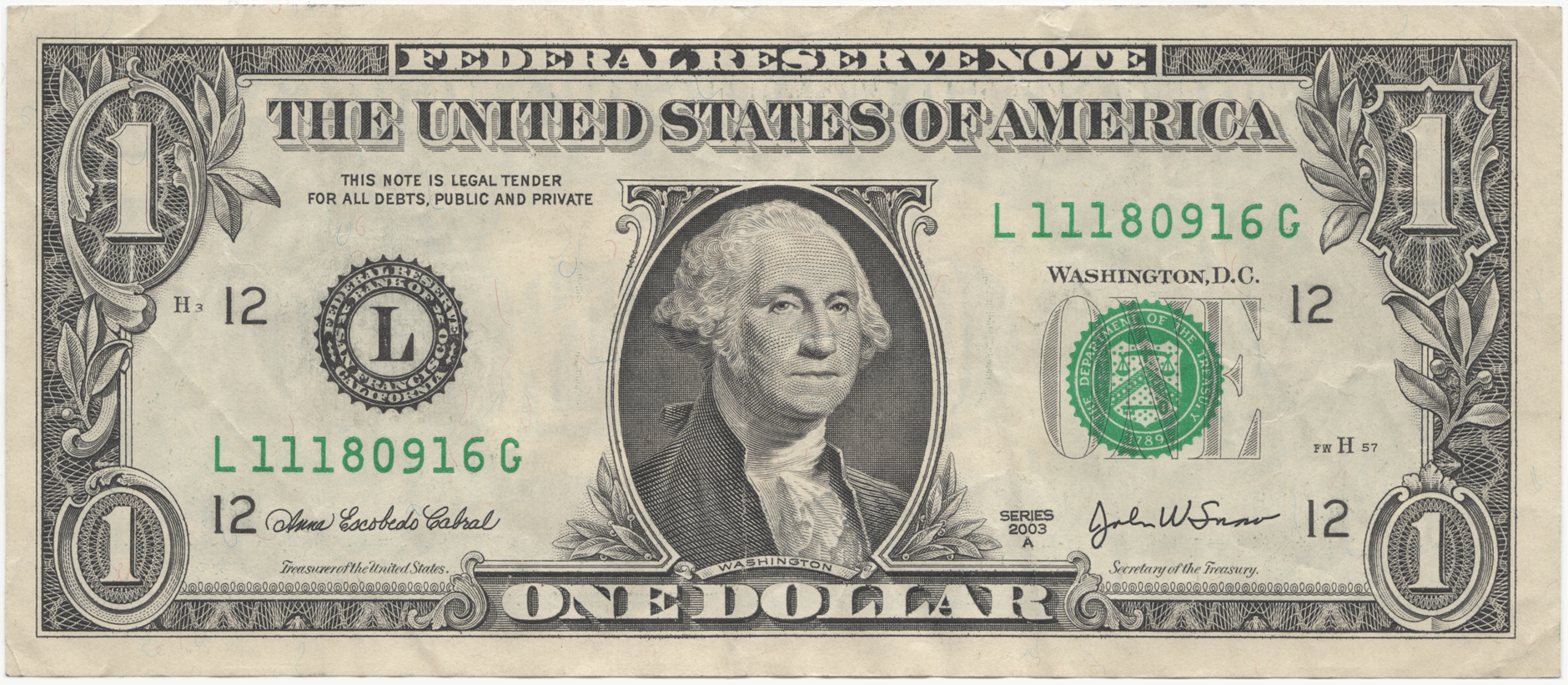 United states one dollar bill obverse xflitez Images