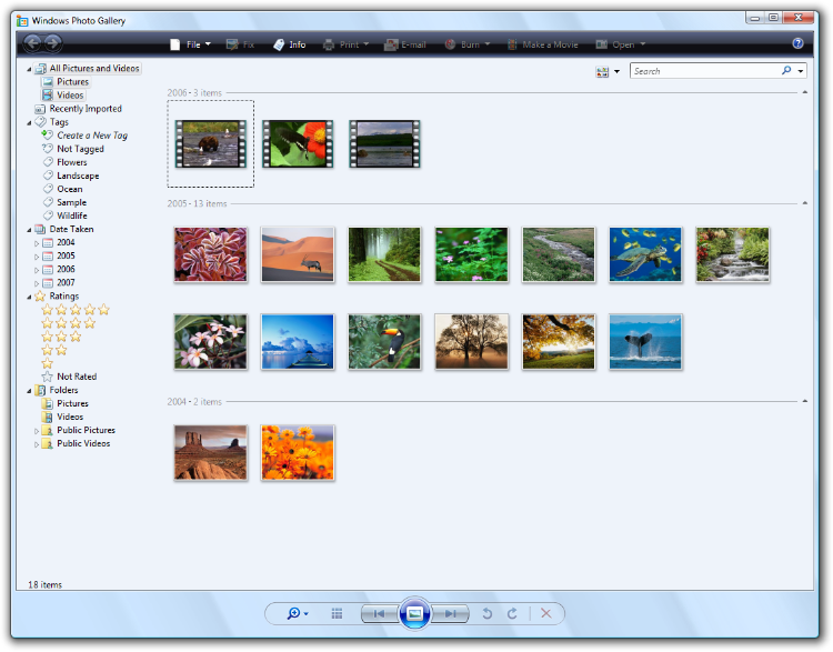 Download and install windows photo gallery on windows 10.